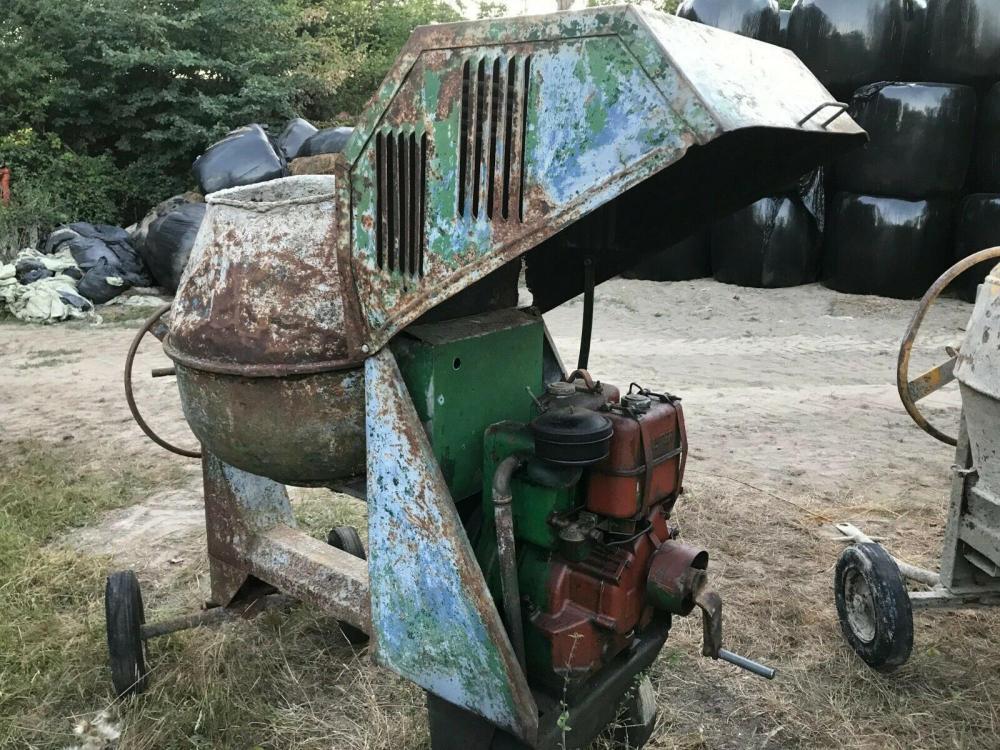 Concrete mixer with Lister LD1 engine £450 plus vat £540