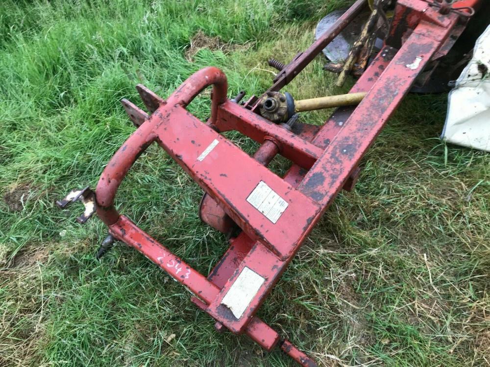 PZ drum tractor mower £480