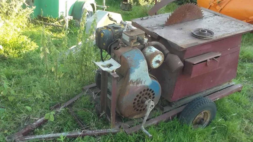 Diesel Engine Sawbench £450 plus vat £540