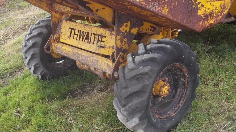 Thwaites Dumper 2 ton £1800 plus vat £2160