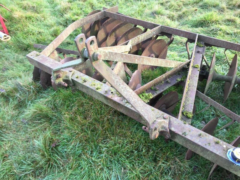 Dusc Harrows - Tractor mounted £390 plus vat £468