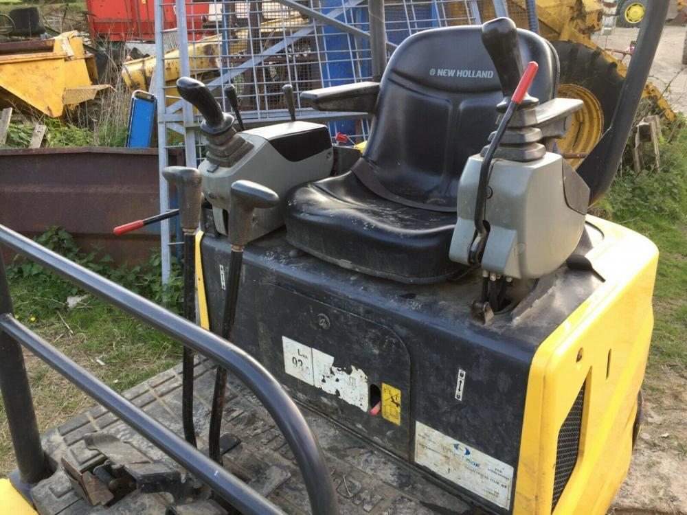 New Holland Digger E18B 2011 £8300 plus vat £9960