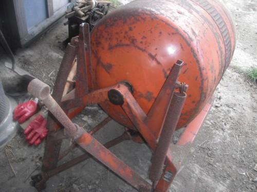 Concrete Mixer PTO