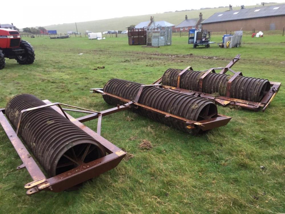 Ring roller 10 ft - heavy roller £580 plus vat £696