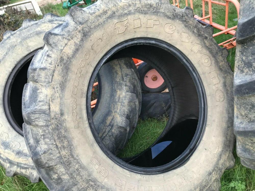 Tractor Tyre 540/65 R 30 Firestone Front Tyre £200