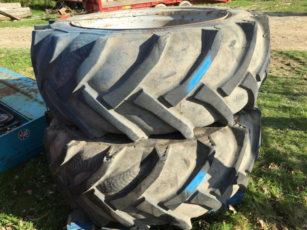 Tractor tyres and wheels 600/55-38 £300 plus vat £360