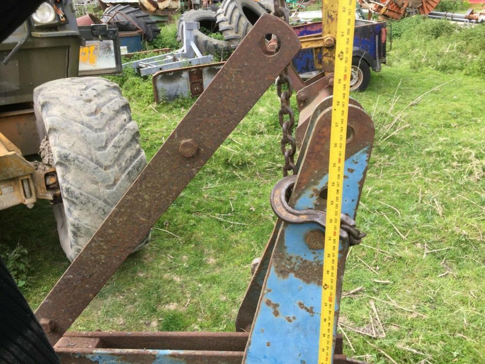 Mole Plough Ransomes with expander £550 plus vat £660