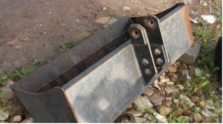 Ditching Bucket 1 metre - little used
