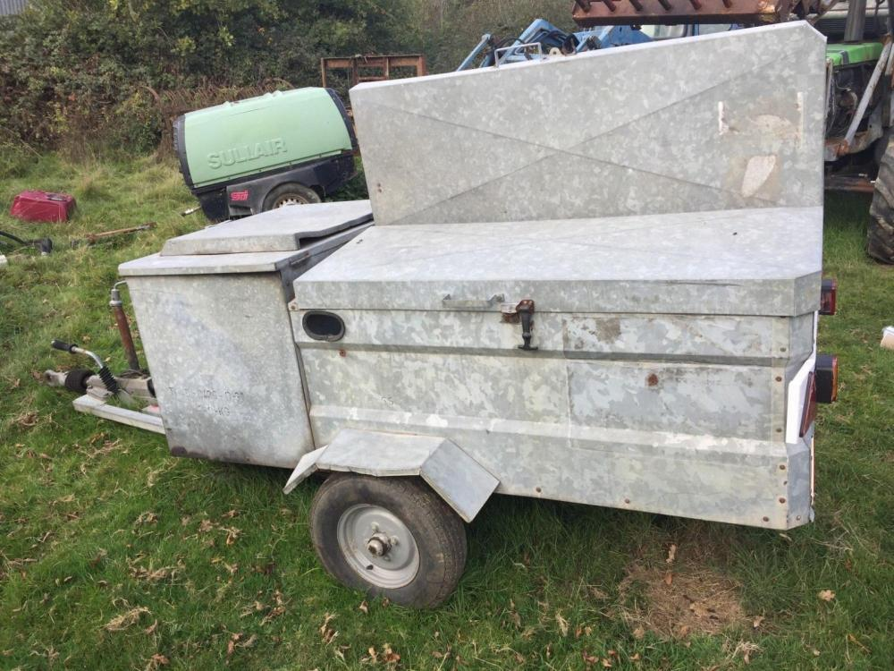 Tool Trailer £400 plus vat £480