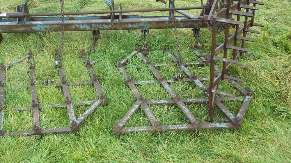 Parmiter Zig Zag harrows hydraulic folding £650 plus vat £780
