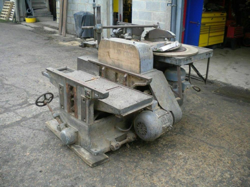 Cooksley LBBML crosscut saw with side roller..£550+VAT