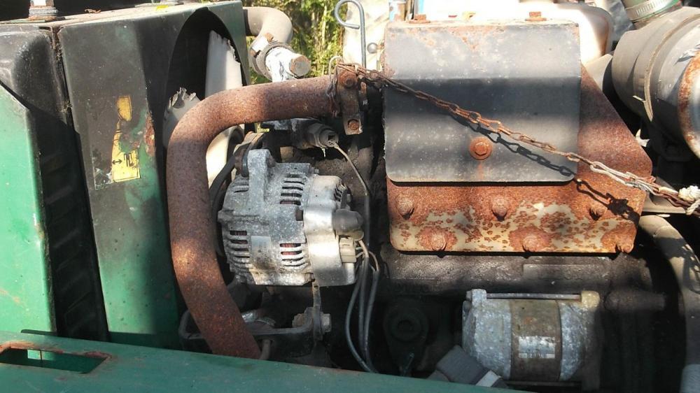 Ransomes mower kubota engine running