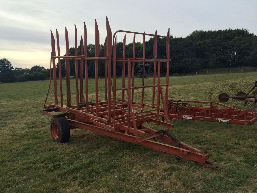 Browns bale carrier £750 plus vat £900