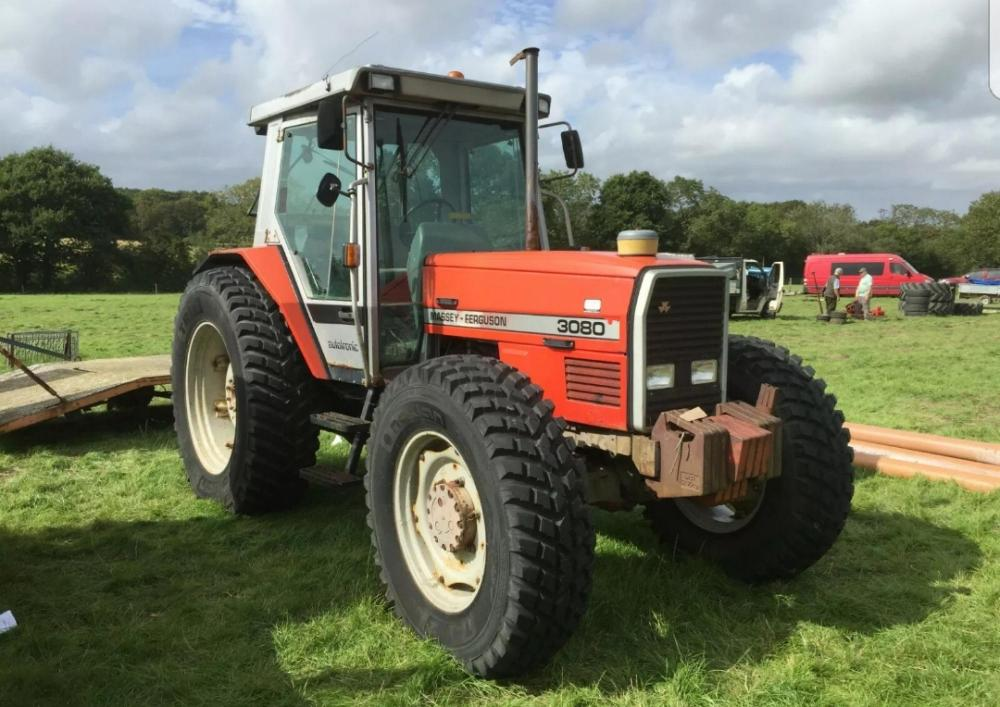 Massey ferguson 3080 tractor 4 wheel drive £9500