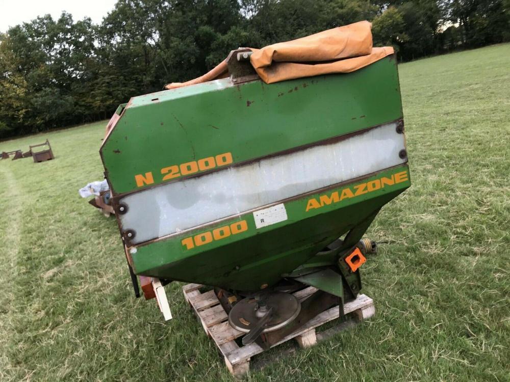 Amazone Fertiliser Spreader Z - AM £820 plus vat £985 inc Vat