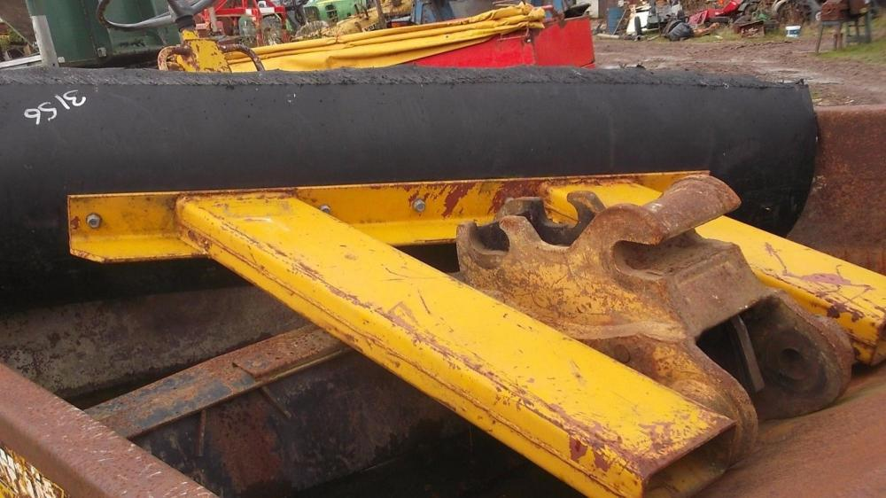 Snow plough to fit a fork lift £380