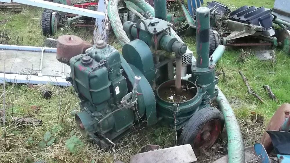 Lister twin Diaphragm Water Pump