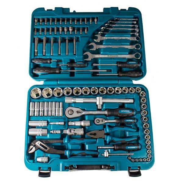 Hyundai 98pcs Universal Tool / Square Drive Socket Set K98