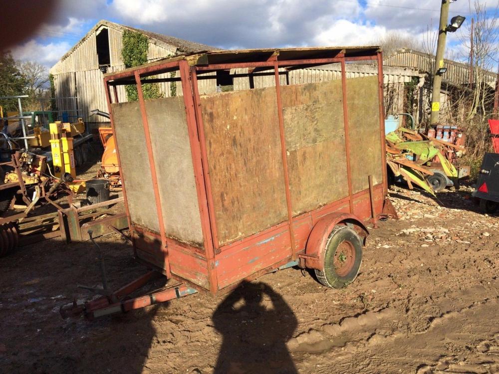 Stock trailer £300