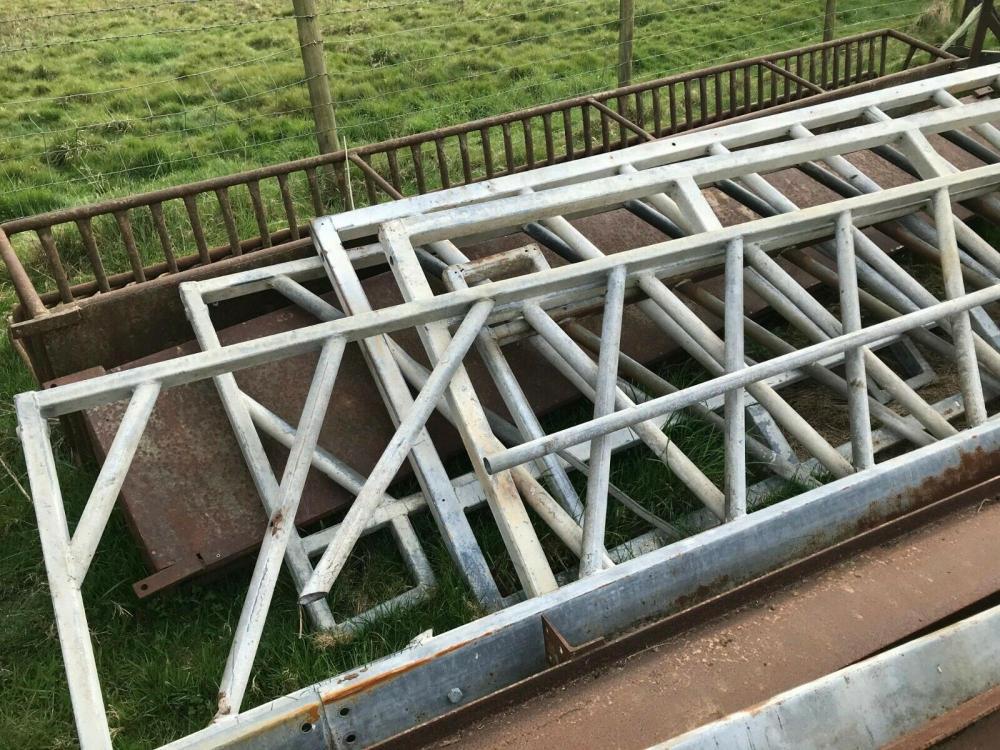 Cattle Feed Barrier Diagonal £200 plus vat £240