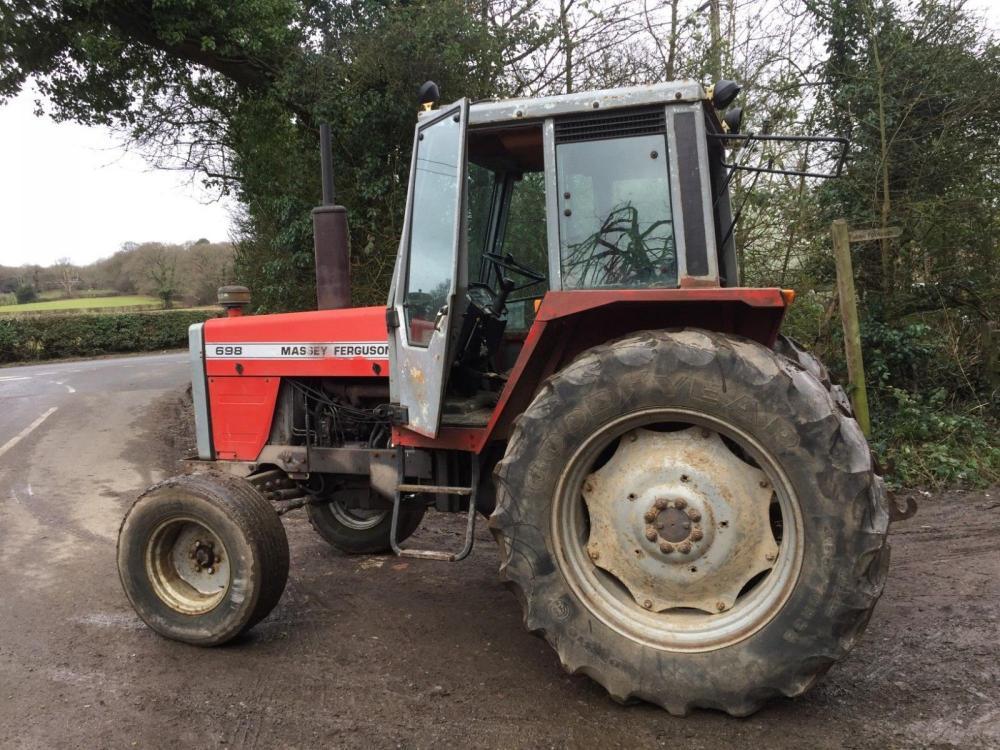 Massey Ferguson 698 Tractor £5950