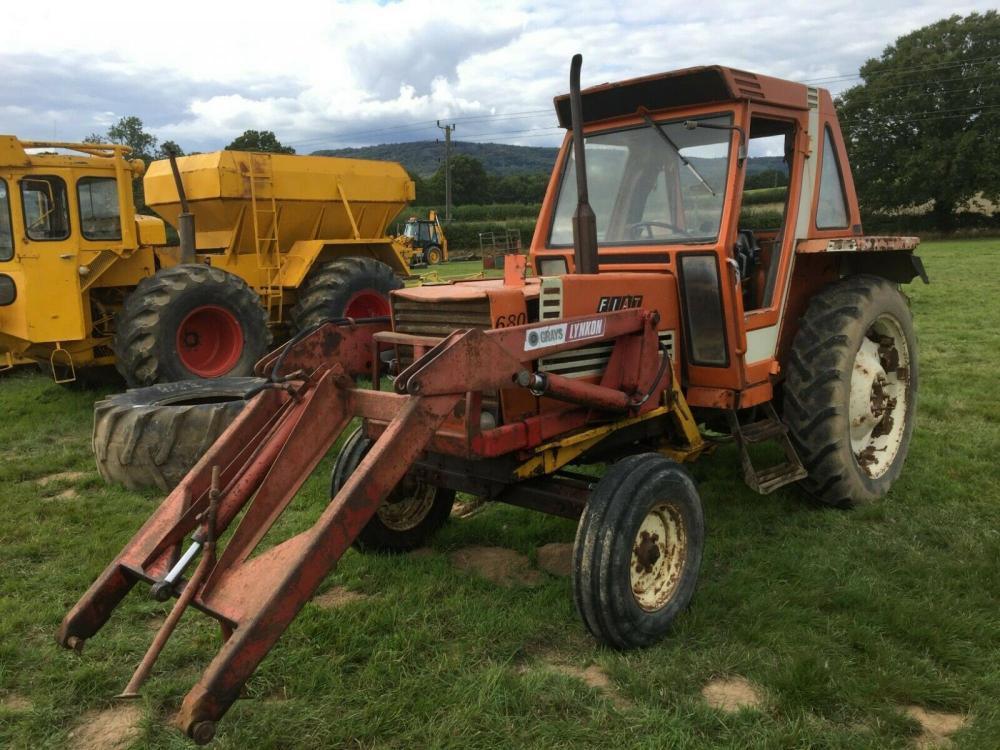 Fiat Agri Tractor 680 H with loader £5500 plus vat £6600 inc VAT