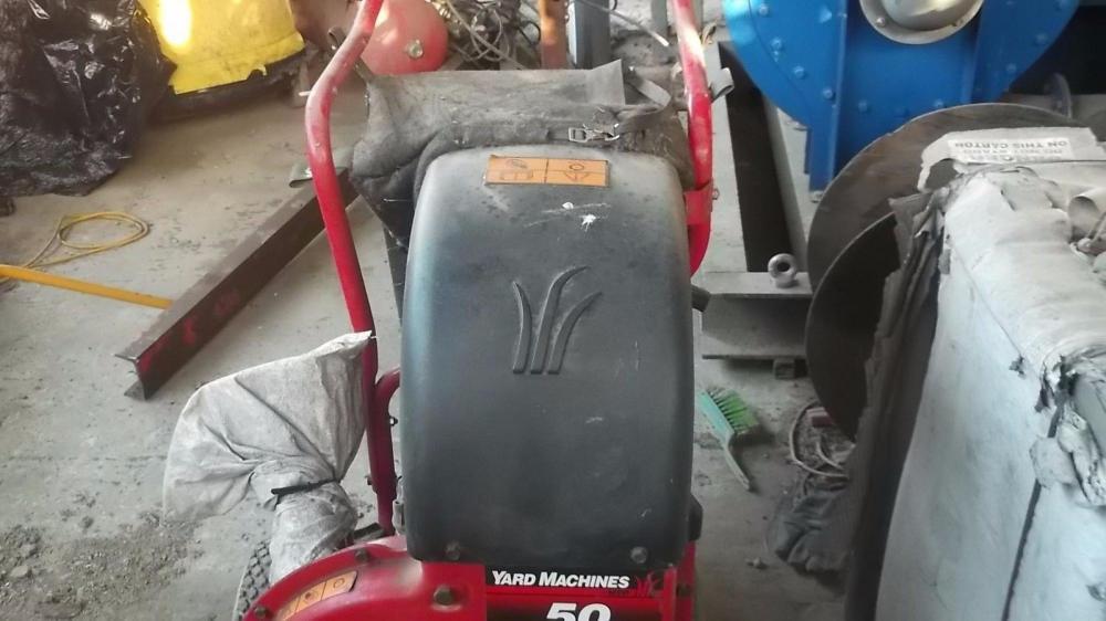MTD Yard Machine leaf and debris collector vacuum £480