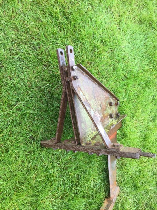 Massey Ferguson Mole plough - compact £370