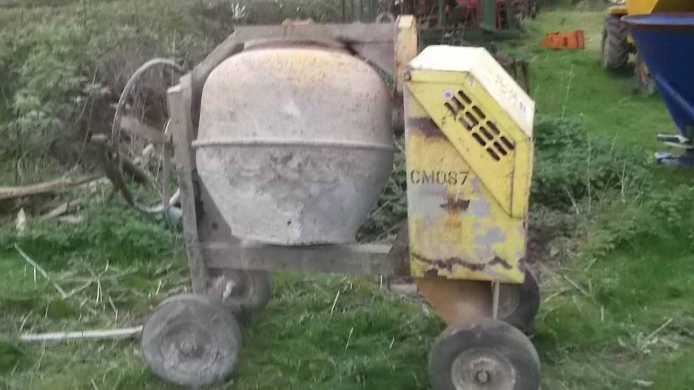 Concrete mixer Diesel