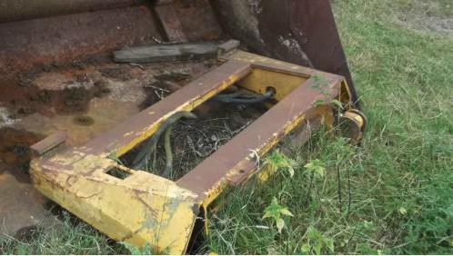 Tractor Telehandler Tipping bucket Toe Tip