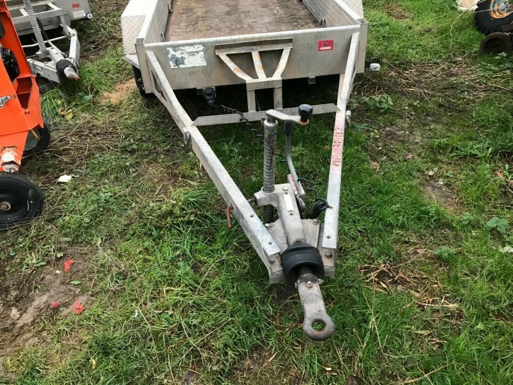 Plant Trailer Indespension - 2700 kgs - 8 x 4 Gatwick £1250 plus vat £1500