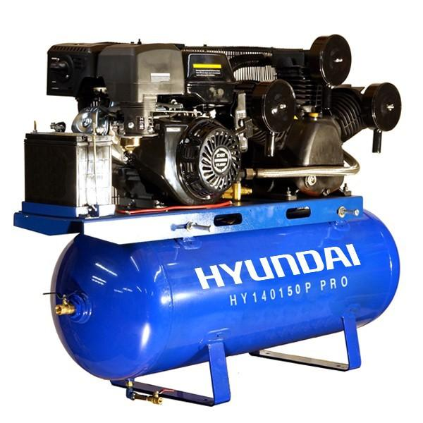 Hyundai HY140150P Petrol Driven Air Compressor