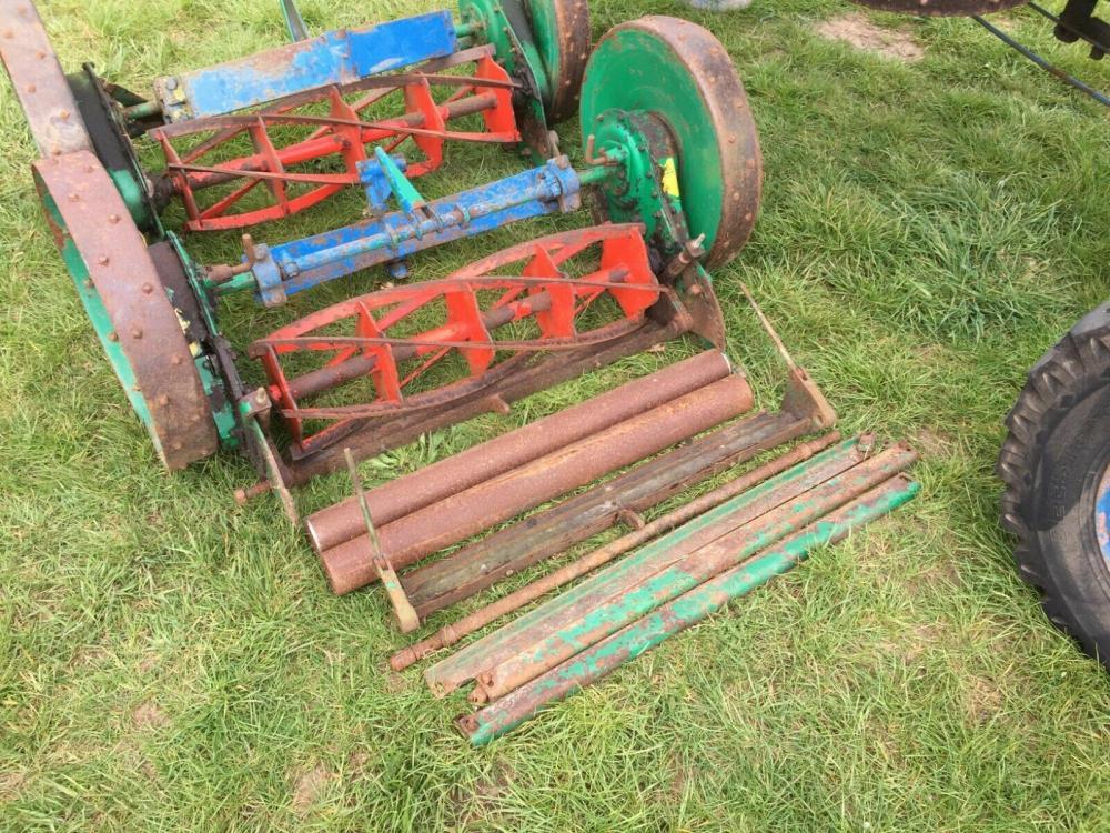 Ransomes Hydraulic Folding Gang Mowers £750