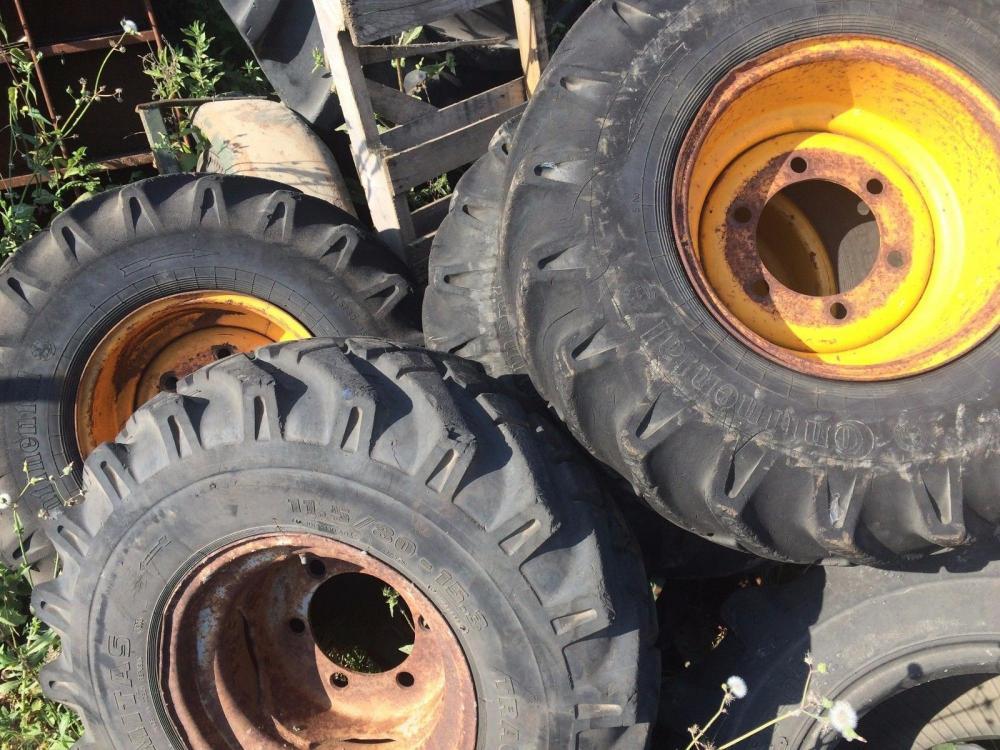 Dumper wheel and tyre 11.5/80 - 15.3 £60 plus vat £72