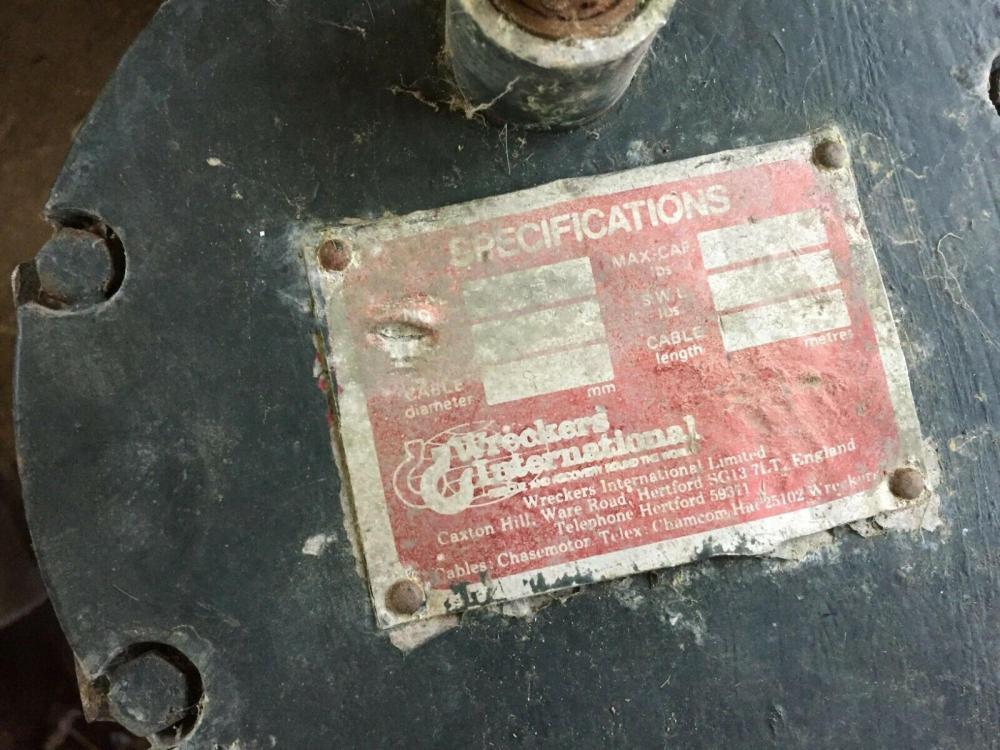 Electric Winch - Wreckers International - £190 - Gatwick