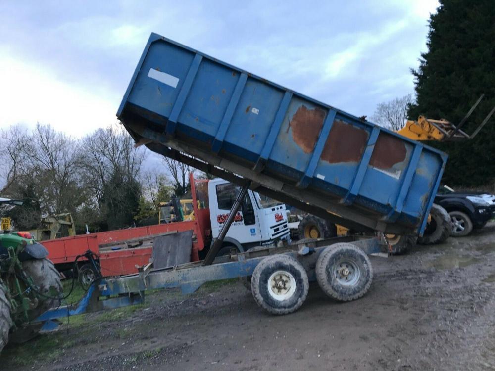 Tipping Trailer Marston 12 ton £2450 plus vat £2940