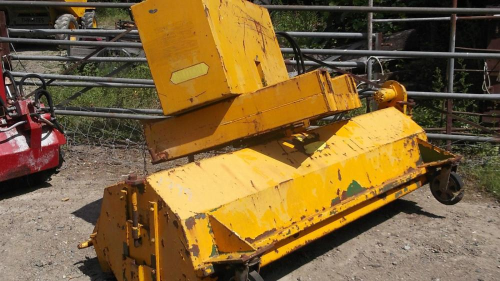 Sutton Road Brush with Dust suppression £500 plus vat £600