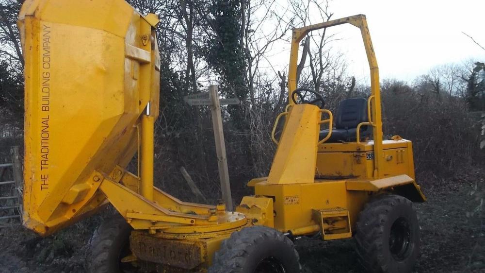 Dumper 3 ton tip and swivel £3950 plus vat £4740