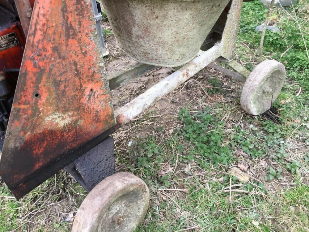 Diesel Concrete Mixer £650