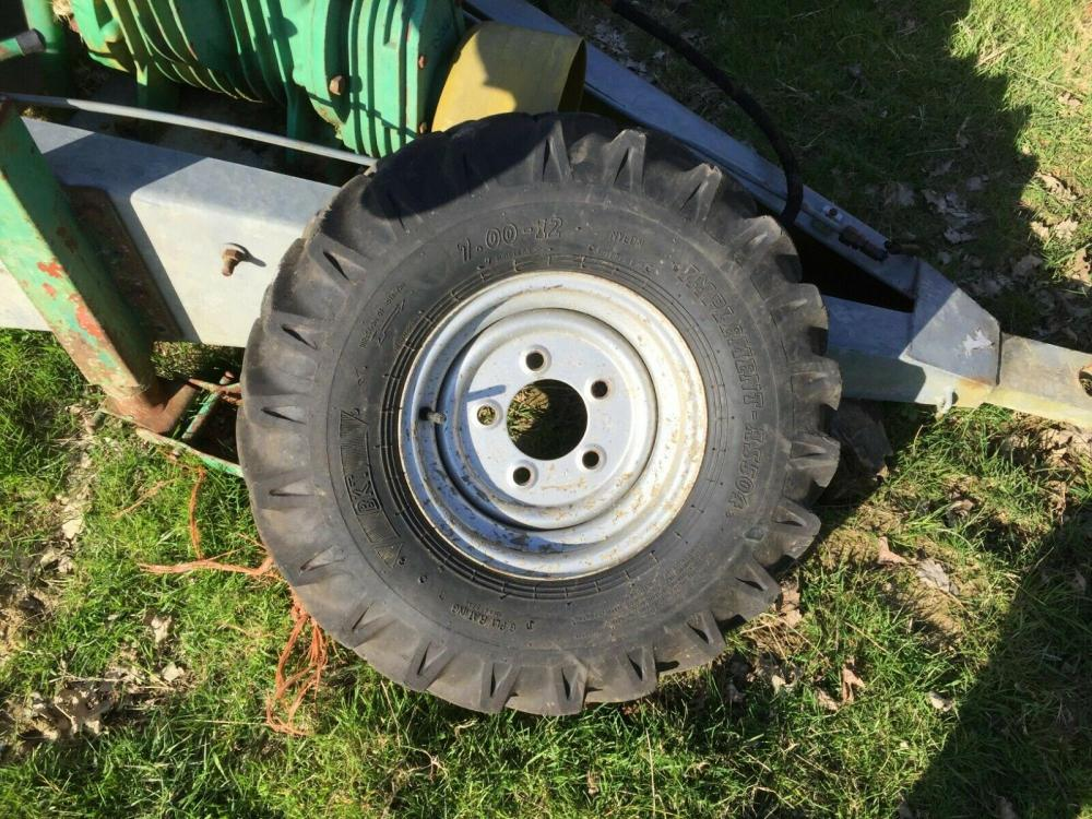 Dumper wheel and tyre 7.00 -12 £70 plus vat £84