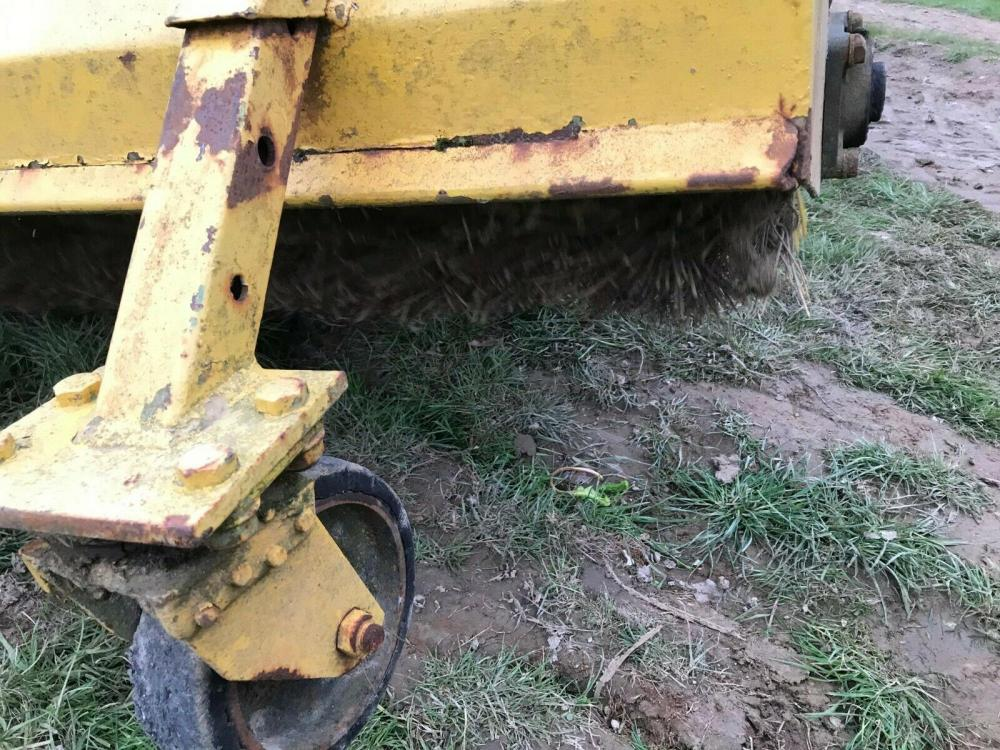 Road brush - tractor mounted - pto driven £600 plus vat £720