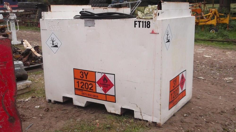 Diesel Store Bunded 600 gallon £575 plus vat £690