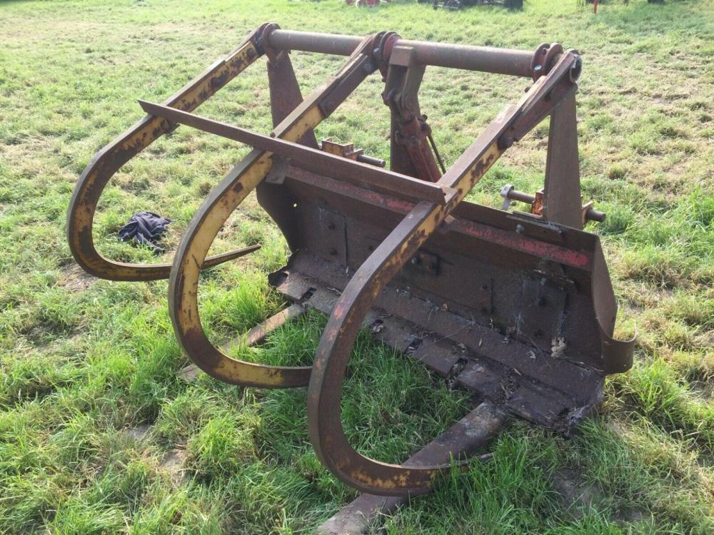 Grab for timber Heavy Duty 3 point linkage £390