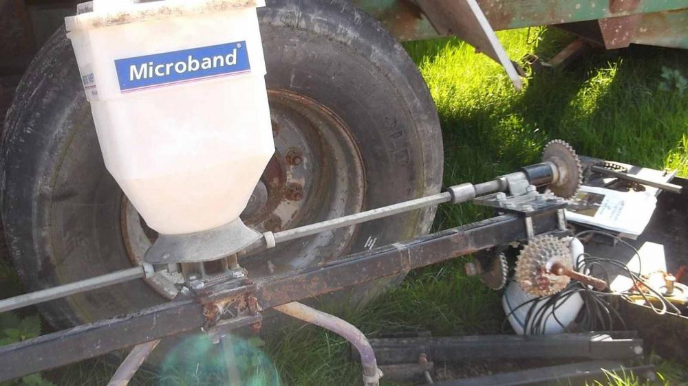 Microband Applicator to fit a Spalding Flat lift £375 plus vat £450