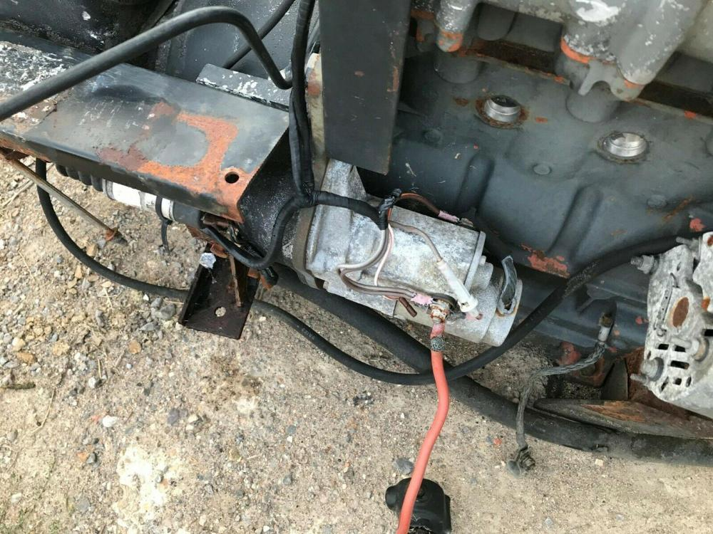 Lister 3 cylinder engine with Hydrovane compressor - spares £360 plus vat £432