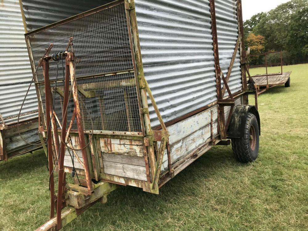 Farm Livestock Trailer £700 plus vat £840