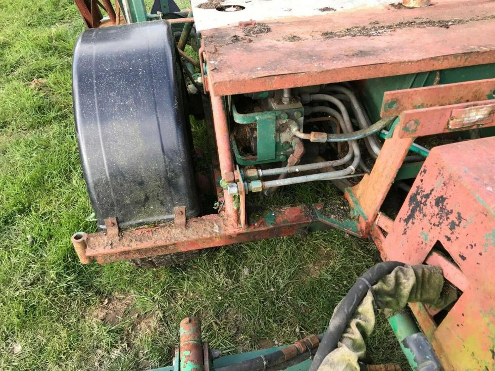 Ransomes gang mower 5 reel - tractor driven - £750