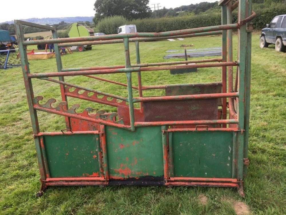 Cattle Crush £390 plus vat £468 inc of VAT
