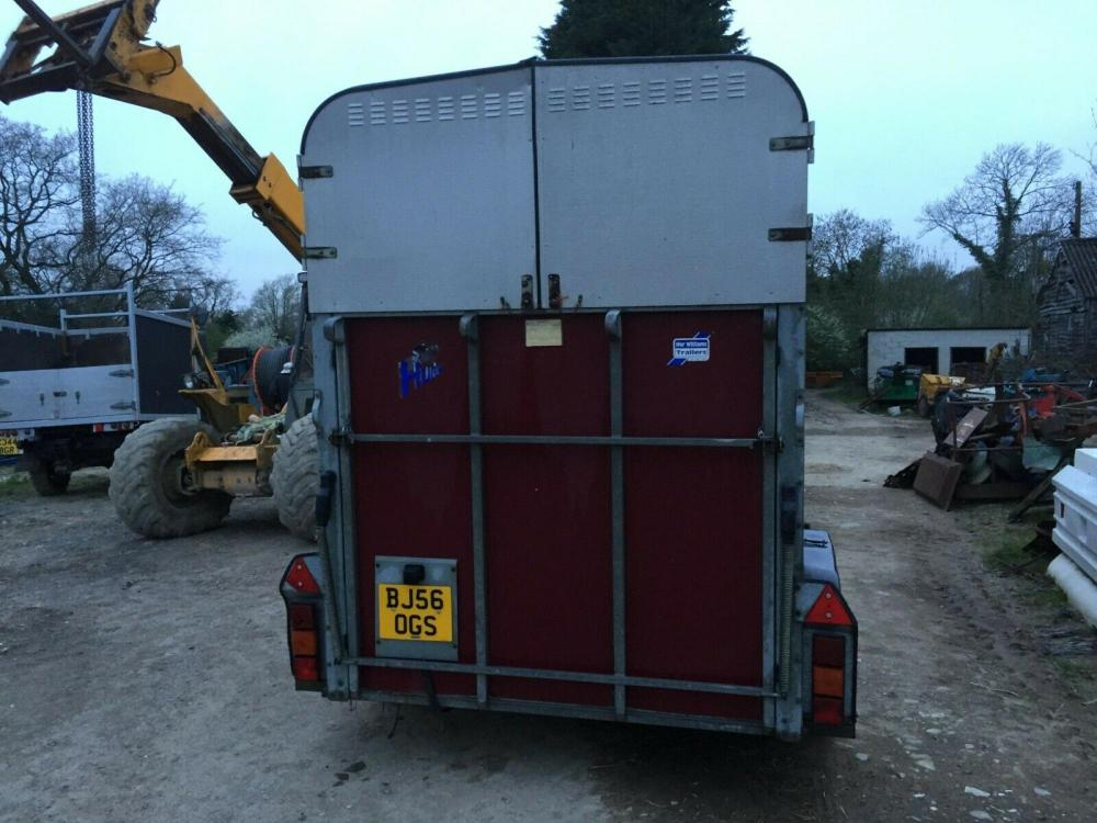Ifor Williams Hunter Horsebox £1750
