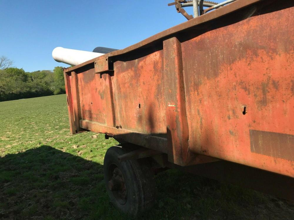 Large Tipping Trailer - ideal dung trailer £1200